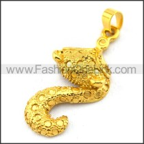 Delicate Stainless Steel Plating Pendant   p003401