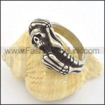 Unique Design Popular Skull Ring r001349
