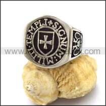Delicate Stainless Steel Casting Ring r003154