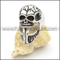 Stainless Steel Special Design Skull Ring  r000417