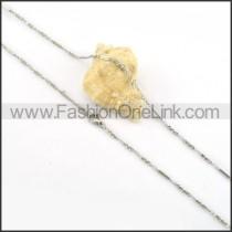 Elegant Silver Small Chain   n000145
