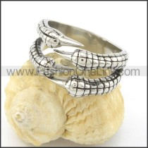 Stainless Steel Claw Ring r001494