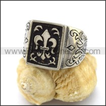 Exquisite Stainless Steel Casting Ring     r003319