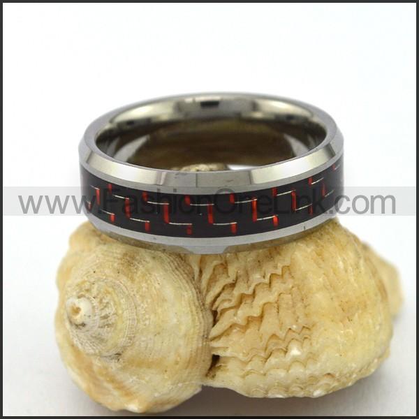 Elegant Stainless Steel Ring r003102