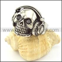 DJ Skull Ring r001017