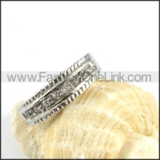 Crown Ring in Stainless Steel  r000181