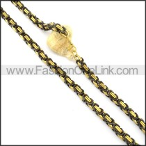 Hot Selling Plated Necklace    n000351