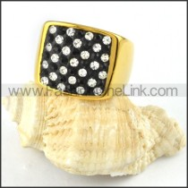 Stainless Steel Square Ring r000228