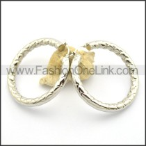 Delicate Stainless Steel Plated Earrings   e000997