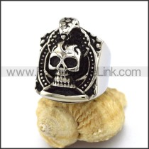 Fashion Stainless Steel Skull Ring  r003390