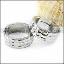 Classic Plating Stainless Steel Earrings     e000004