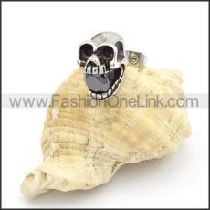 Exquisite Stainless Steel Skull Earrings   e000142
