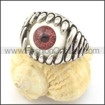 Prong Setting Eye Ring r001303
