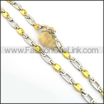 Good Quality Gold and Silver Plated Necklace n000782