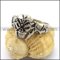 Unique Stainless Steel Skull Ring  r003213