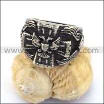 Unique Stainless Steel Casting Ring  r003054