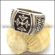 Delicate  Stainless Steel Casting Ring r002336
