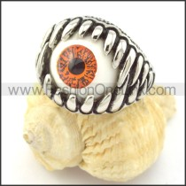 Prong Setting Eye Ring r001306