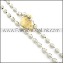 Good Quality Coil Fashion Necklace n000481