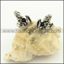 Exquisite Stainless Steel Stone Earrings     e000710