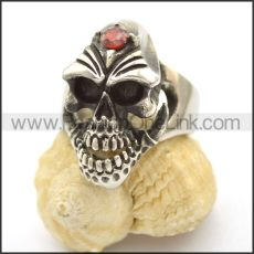 Unique Skull Stainless Steel Ring  r002465