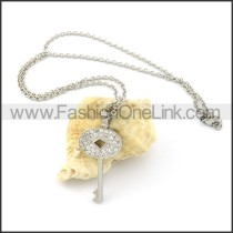 Delicate Key Necklace   n000270