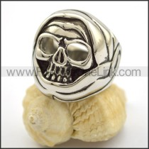 Exquisite Skull Stainless Steel Ring  r001706