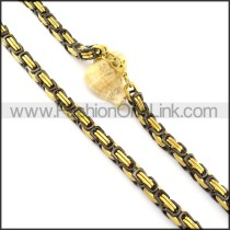 Exquisite Plated Necklace    n000352