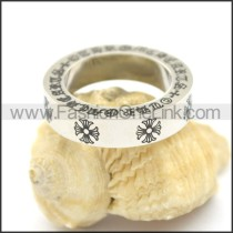 Delicate Casting Stainless Steel Ring   r002398