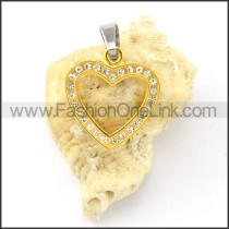 Exquisite Stainless Steel Plating Pendant  p000490