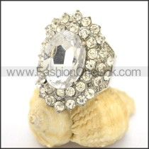 Delicate Shiny Stone Ring  r002174