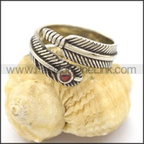 Delicate  Stainless Steel Casting Ring r002334