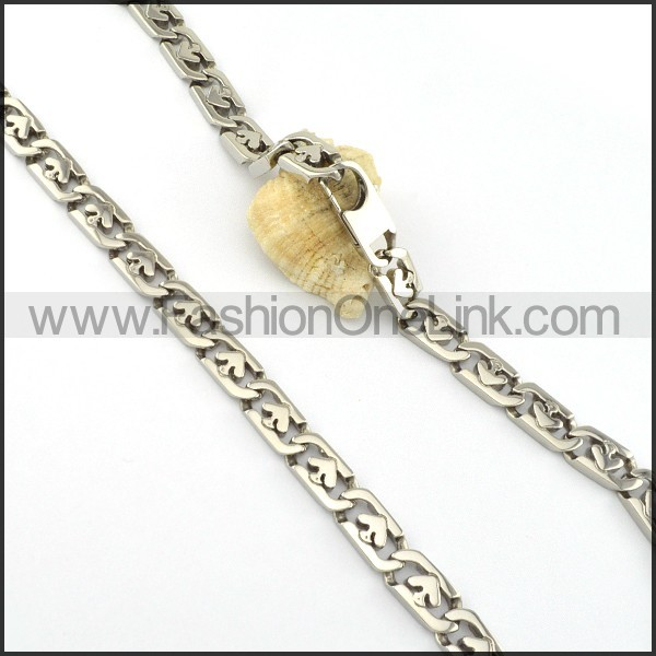 Elegant Stamping Necklace   n000326
