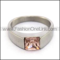 Stainless Steel Wedding Ring  r003726