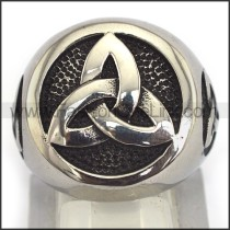Exquisite Staninless Steel Casting Ring  r003442