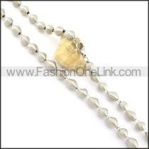 Succinct Coil Fashion Necklace    n000482