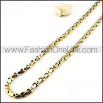 Two Tone Necklace   n000003