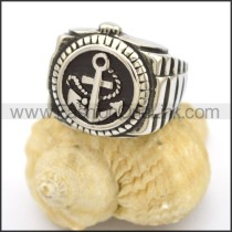Unique Stainless Steel Casting Ring r002766
