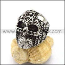 Exquisite Stainless Steel Skull Ring r002904