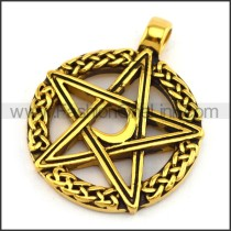 Delicate Stainless Steel Plating Pendant  p003063