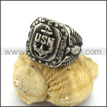 Exquisite Stainless Steel Casting Ring  r003308