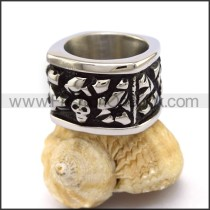 Fashion Stainless Steel Skull Ring  r003383