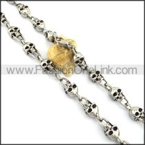 Exquisite Skull Necklace n001115