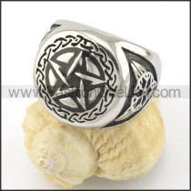 Exquisite Stainless Steel Ring  r001481