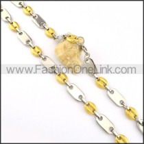Good Quality SIlver and Golden Plated Necklace      n000192