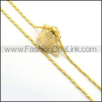 Delicate Golden Plated Necklace n000682