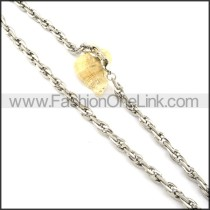 Delicate Staming Necklace  n000355
