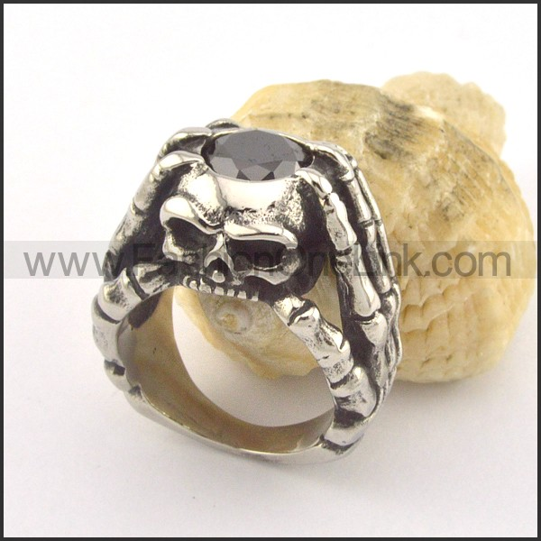 Unique Design Popular Skull Ring r001354