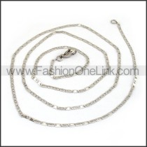 Flat Stamping Necklace n001189