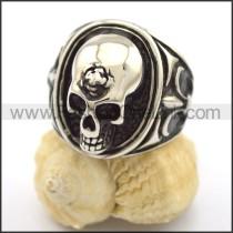 Stainless Steel Skull Ring r001917